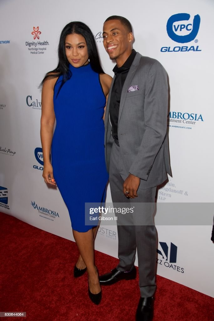 Jordin Sparks and Dana Isaiah attend the 17th Annual Harold & Carole Pump Foundation Gala at The Beverly Hilton Hotel on August 11, 2017 in Beverly Hills, California.