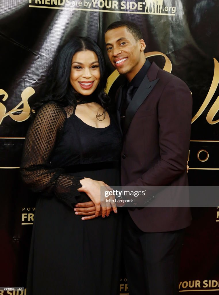 Jordin Sparks and Dana Isaiah attend the 2017 One Night With The Stars benefit at the Theater at Madison Square Garden on December 4, 2017 in New York City.