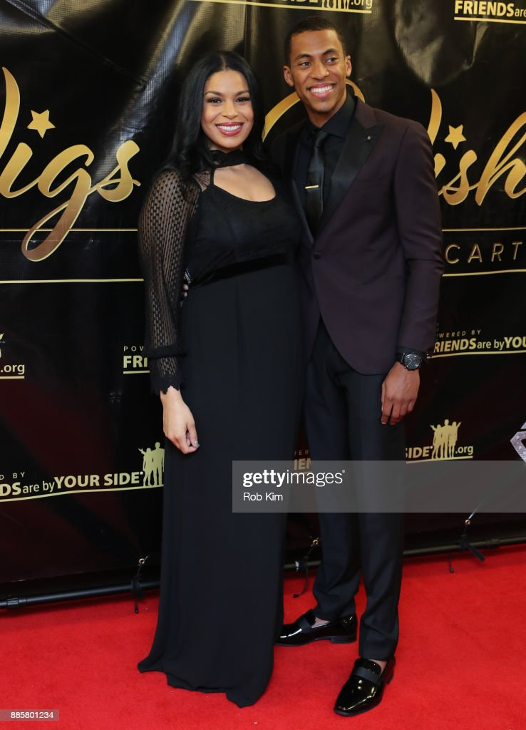 Jordin Sparks and husband Dana Isaiah attend the 2017 One Night With The Stars Benefit at The Theater at Madison Square Garden on December 4, 2017 in New York City.