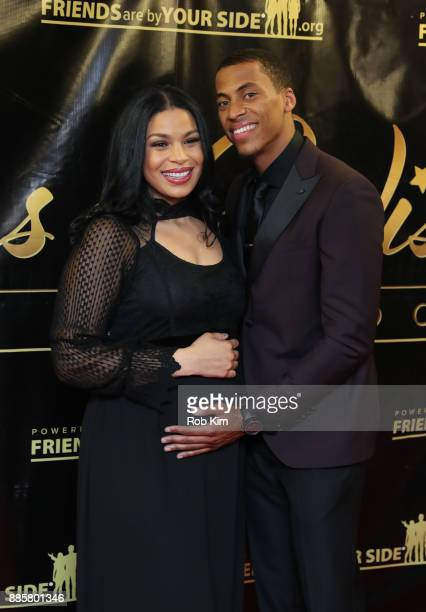 Jordin Sparks and husband Dana Isaiah attend the 2017 One Night With The Stars Benefit at The Theater at Madison Square Garden on December 4 2017 in...