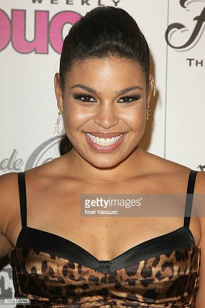 Jordin Sparks attends InTouch Weekly's ICONSIDOLS PostVMA Celebration at Chateau Marmont on September 7 2008 in Los Angeles California