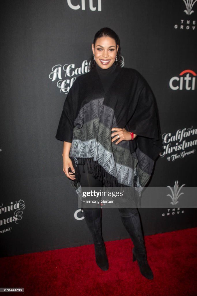 Jordin Sparks attends the California Christmas at The Grove on November 12, 2017 in Los Angeles, California.