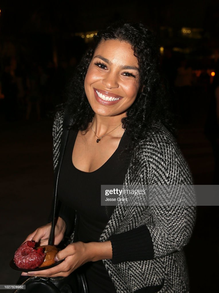 Jordin Sparks attends the 'God Bless The Broken Road' Premiere at Silver Screen Theater at the Pacific Design Center on September 5, 2018 in West Hollywood, California.