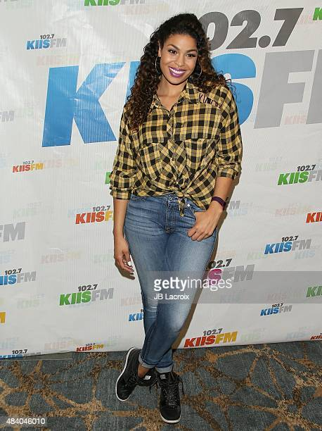 Jordin Sparks attends the KIIS FM's Annual Teen Choice preparty at the W Westwood on August 14 2015 in Westwood California