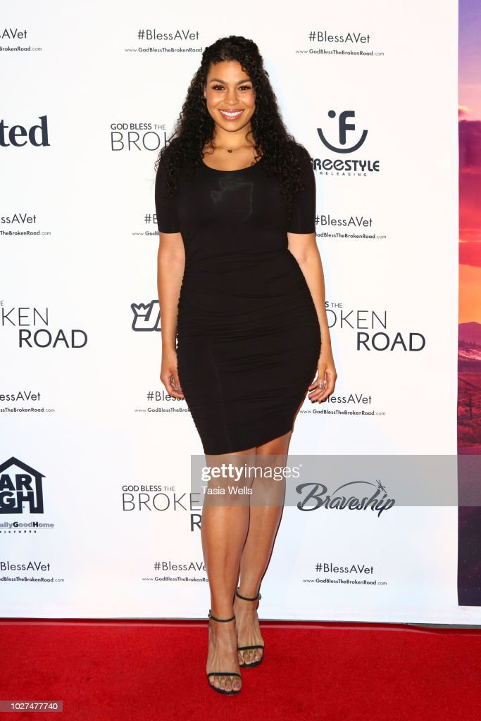 Jordin Sparks attends the screening of Entertainment Studios' 'God Bless The Broken Road' at Silver Screen Theater at the Pacific Design Center on September 5, 2018 in West Hollywood, California.