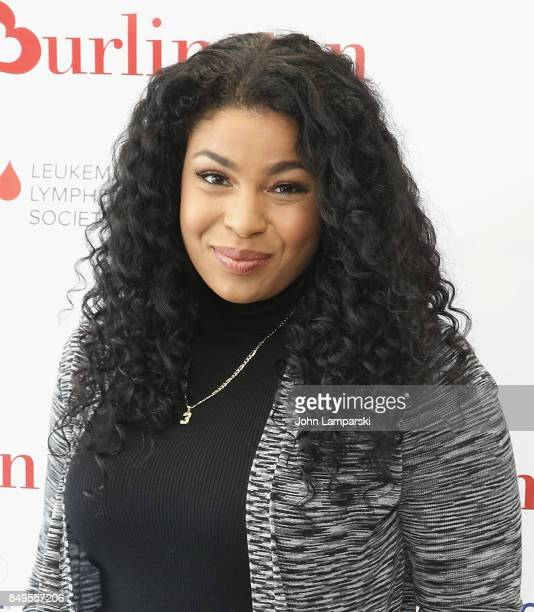 Jordin Sparks teams up with Burlington Stores and The Leukemia & Lymphoma Society to raise funds to fight blood cancers at Burlington Union Square on...