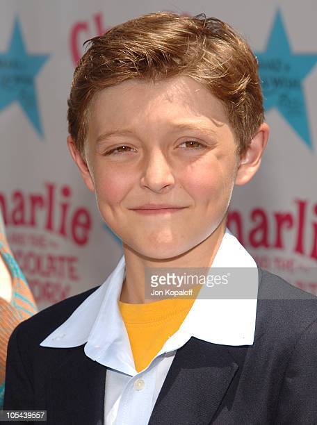 Jordon Fry during 'Charlie and the Chocolate Factory' Los Angeles Premiere Arrivals at Grauman's Chinese Theater in Hollywood California United States