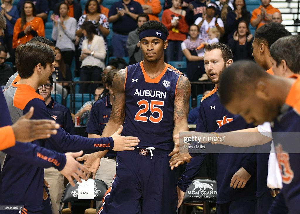 Jordon Granger Of The Auburn Tigers Is Introduced Before A