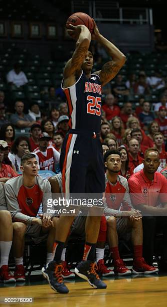 Jordon Granger of the Auburn Tigers shoots the ball against the New Mexico Lobos at the Stan Sheriff Center during the Diamond Head Classic on...