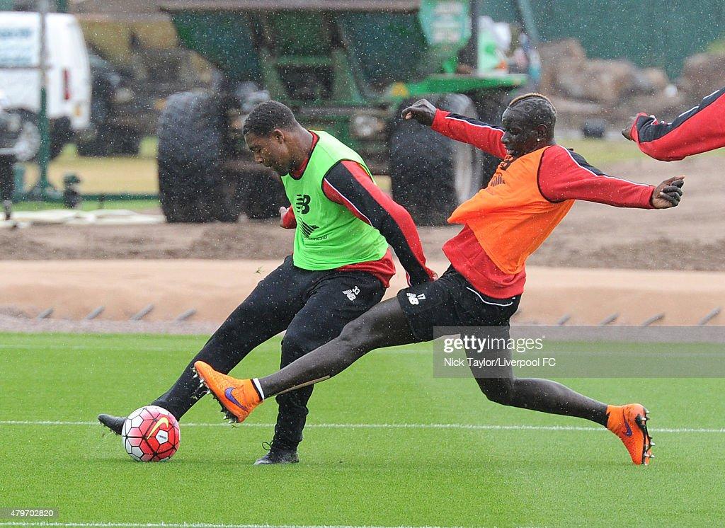 Liverpool Players Return to Pre-Season Training : News Photo