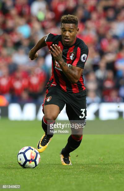 Jordon Ibe of AFC Bournemouth during the Premier League match between West Bromwich Albion and AFC Bournemouth at The Hawthorns on August 12 2017 in...