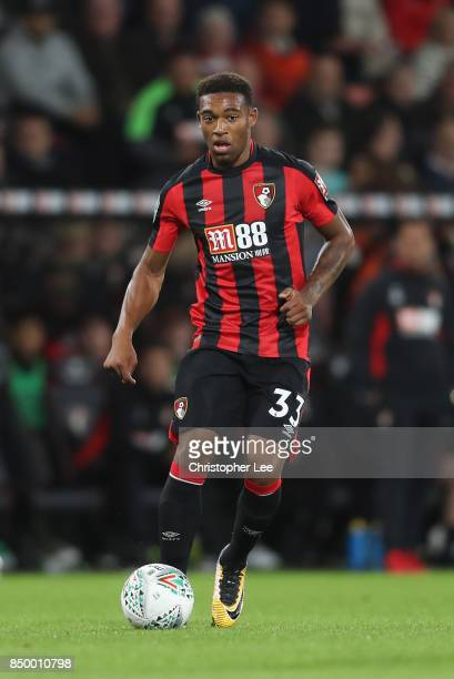 Jordon Ibe of AFC Bournemouth in action during the Carabao Cup Third Round match between Bournemouth and Brighton and Hove Albion at Vitality Stadium...