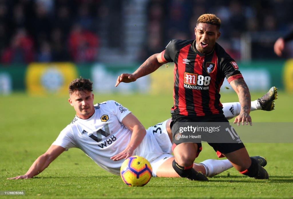 GBR: AFC Bournemouth v Wolverhampton Wanderers - Premier League