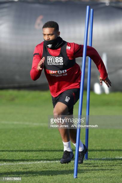 Jordon Ibe of Bournemouth during a training session at the Vitality Stadium on December 23, 2019 in Bournemouth, England.
