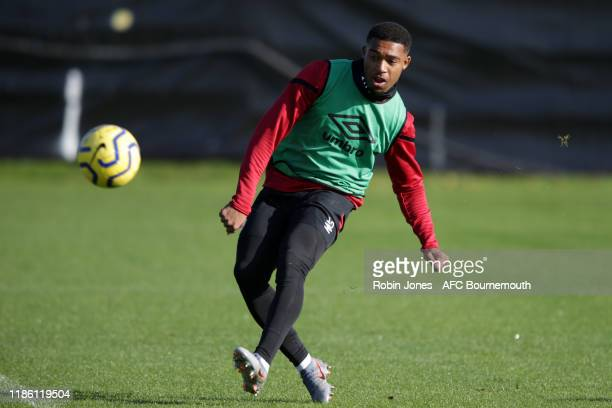 Jordon Ibe of Bournemouth during a training session at Vitality Stadium on November 07, 2019 in Bournemouth, England.