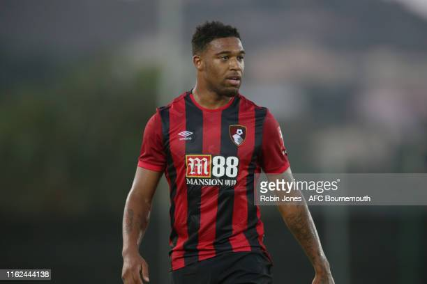 Jordon Ibe of Bournemouth during pre-season friendly between AFC Bournemouth and AFC Wimbledon at La Manga Club on July 16, 2019 in Cartagena, Spain.