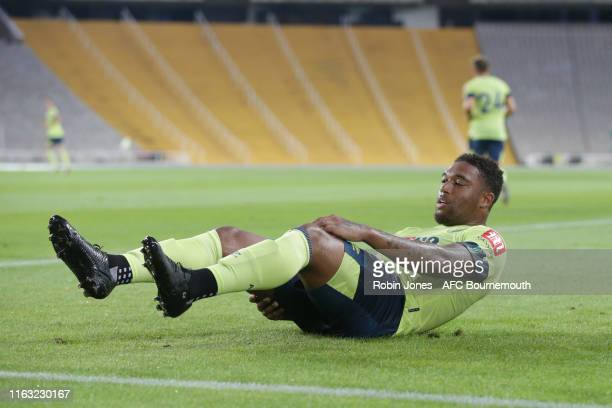 Jordon Ibe of Bournemouth during the Girona v AFC Bournemouth pre-season friendly at Estadi Olimpic Lluis Companys on July 20, 2019 in Barcelona,...