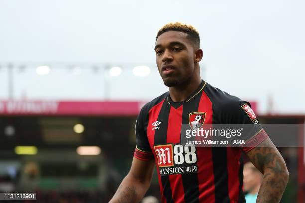Jordon Ibe of Bournemouth during the Premier League match between AFC Bournemouth and Newcastle United at Vitality Stadium on March 16, 2019 in...