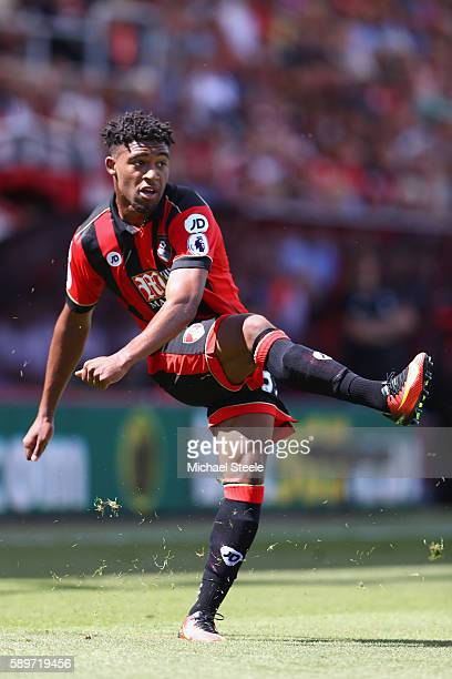Jordon Ibe of Bournemouth during the Premier League match between AFC Bournemouth and Manchester United at the Vitality Stadium on August 14 2016 in...