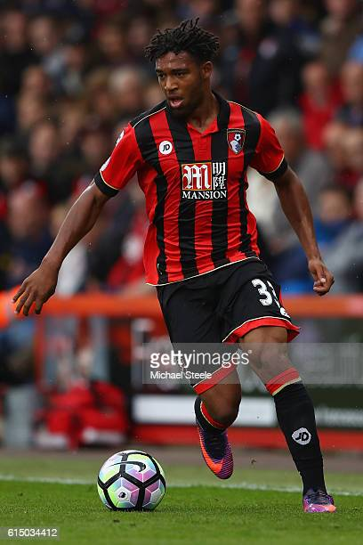 Jordon Ibe of Bournemouth during the Premier League match between AFC Bournemouth and Hull City at Vitality Stadium on October 15 2016 in Bournemouth...