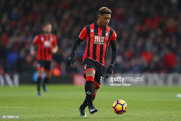 Jordon Ibe of Bournemouth during the Premier League match between AFC Bournemouth and Liverpool at the Vitality Stadium on December 4 2016 in...