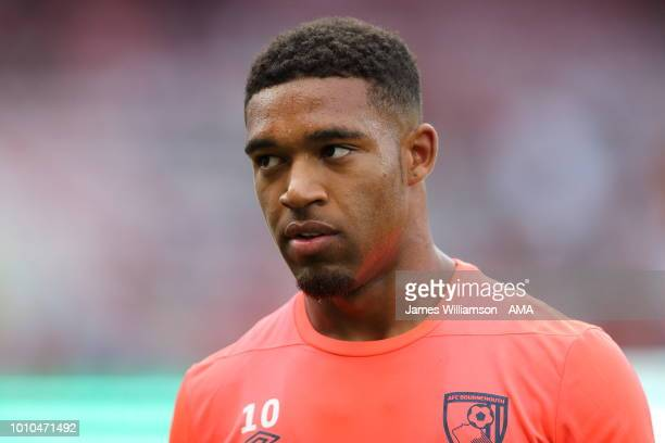 Jordon Ibe of Bournemouth during the PreSeason Friendly match between AFC Bournemouth and Real Betis at Vitality Stadium on August 3 2018 in...