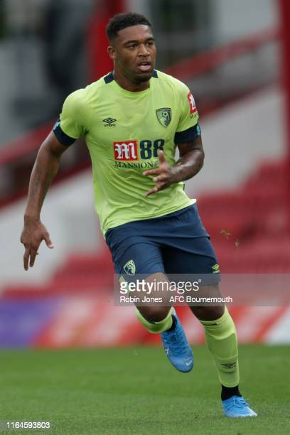 Jordon Ibe of Bournemouth during the Pre-Season Friendly match between Brentford and AFC Bournemouth at Griffin Park on July 27, 2019 in Brentford,...