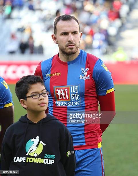 Jordon Mutch of Crystal Palace during the 2015 Cape Town Cup Final match between Crystal Palace FC and Sporting Lisbon at Cape Town Stadium on July...