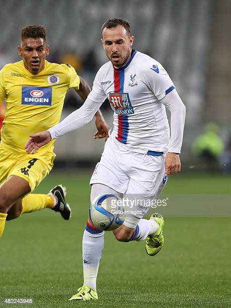 Jordon Mutch of Crystal Palace during the 2015 Cape Town Cup match between SuperSport United and Crystal Palace FC at Cape Town Stadium on July 24...
