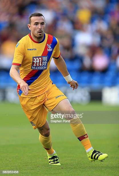 Jordon Mutch of Crystal Palace during the PreSeason Friendly match between Colchester United and Crystal Palace at Colchester Community Stadium on...