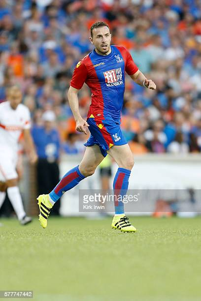 Jordon Mutch of Crystal Palace FC chases after the ball during the match against FC Cincinnati at Nippert Stadium on July 16 2016 in Cincinnati Ohio