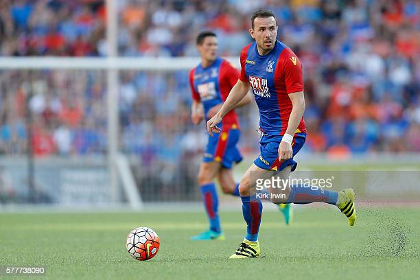 Jordon Mutch of Crystal Palace FC controls the ball during the match against FC Cincinnati at Nippert Stadium on July 16 2016 in Cincinnati Ohio
