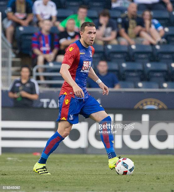 Jordon Mutch of Crystal Palace plays against the Philadelphia Union at Talen Energy Stadium on July 13 2016 in Chester Pennsylvania The match ended...