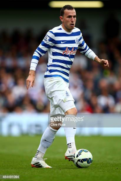 Jordon Mutch of QPR during the Barclays Premier League match between Queens Park Rangers and Sunderland at Loftus Road on August 30 2014 in London...