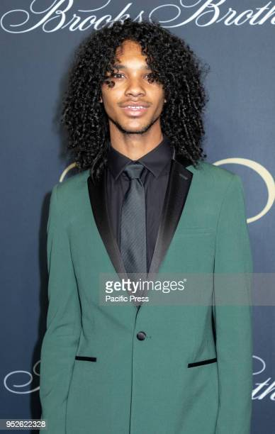 Jordun Love attends the Brooks Brothers Bicentennial Celebration at Jazz At Lincoln Center, Manhattan.