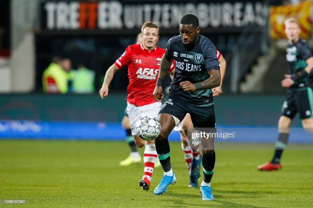 "Dutch Eredivisie""AZ Alkmaar v ADO Den Haag"" : News Photo"