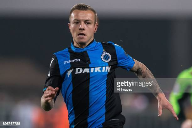 Jordy Clasie of Club Brugge during the Jupiler Pro League match between KV Mechelen and Club Brugge on December 20 2017 at the AFAS stadium in...