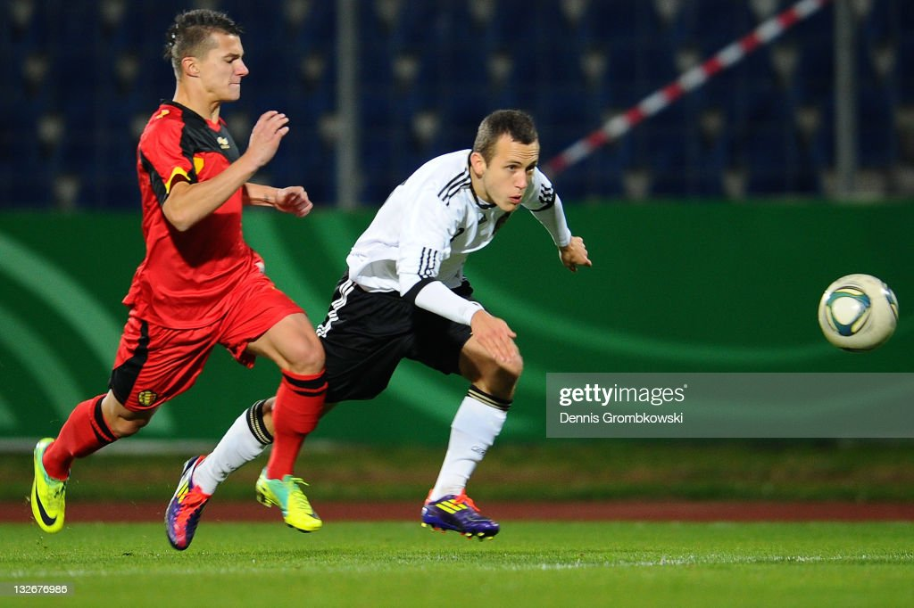 U18 Germany v U18 Belgium - International Friendly : News Photo