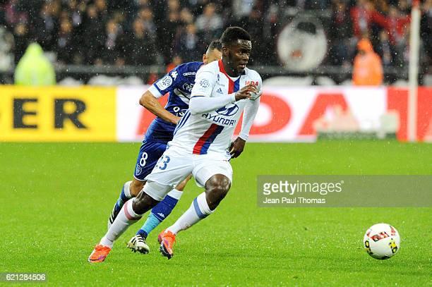 Jordy GASPAR of Lyon during the Ligue 1 match between Olympique Lyonnais and SC Bastia at Stade de Gerland on November 5 2016 in Lyon France