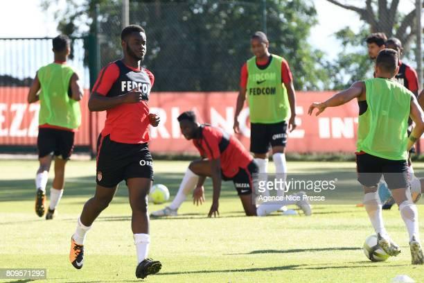 Jordy Gaspar of Monaco during the training session of AS Monaco on July 5 2017 in Monaco Monaco