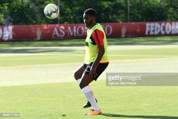 Jordy Gaspar of Monaco during training session of As Monaco on June 30 2017 in Monaco Monaco