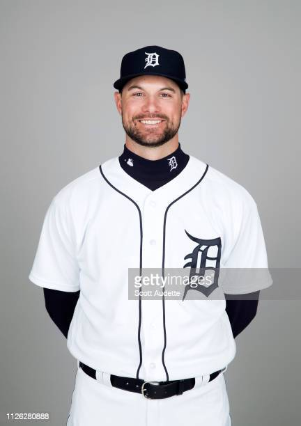 Jordy Mercer of the Detroit Tigers poses during Photo Day on Tuesday February 19 2019 at Publix Field at Joker Marchant Stadium in Lakeland Florida