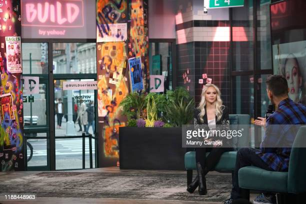 Jordyn Jones attends Build Series to discuss the release of her new selftitled EP and tour at Build Studio on November 18 2019 in New York City
