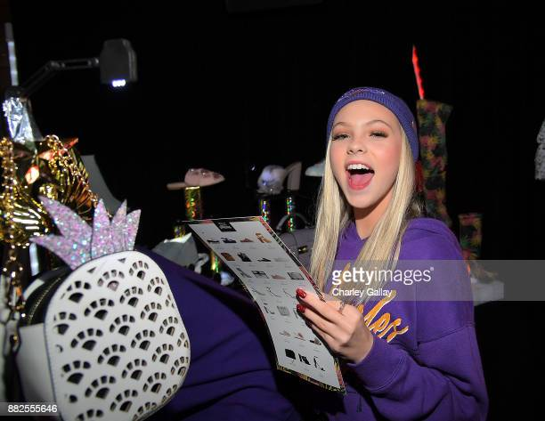 Jordyn Jones attends Call It Spring takes over HYDE Lounge to host young Hollywood's finest for the Lakers vs Warriors NBA Game at Hyde Lounge at The...