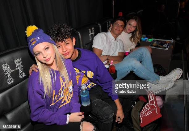 Jordyn Jones Brandon Westenberg Dylan Jordan and Summer McKeen attend Call It Spring takes over HYDE Lounge to host young Hollywood's finest for the...