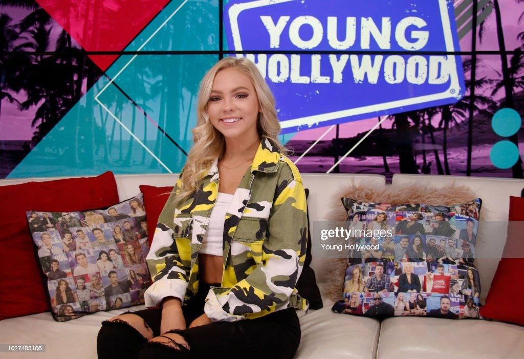 Jordyn Jones Visits Young Hollywood Studio : News Photo