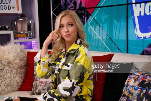 Jordyn Jones visits the Young Hollywood Studio on August 28 2018 in Los Angeles California