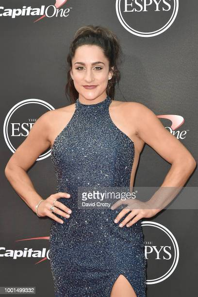 Jordyn Wieber attends The 2018 ESPYS at Microsoft Theater on July 18 2018 in Los Angeles California