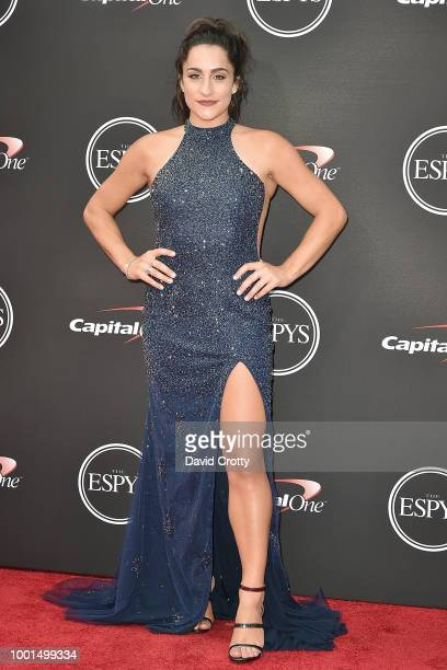 Jordyn Wieber attends The 2018 ESPYS at Microsoft Theater on July 18, 2018 in Los Angeles, California.