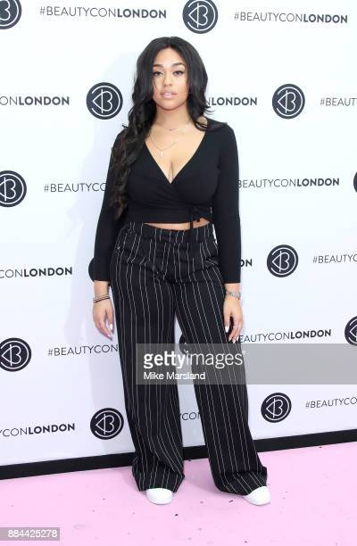 Jordyn Woods attends Beautycon Festival 2017 at Olympia London on December 2 2017 in London England